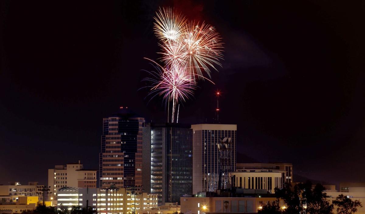 """A"" Mountain Fireworks Celebration"