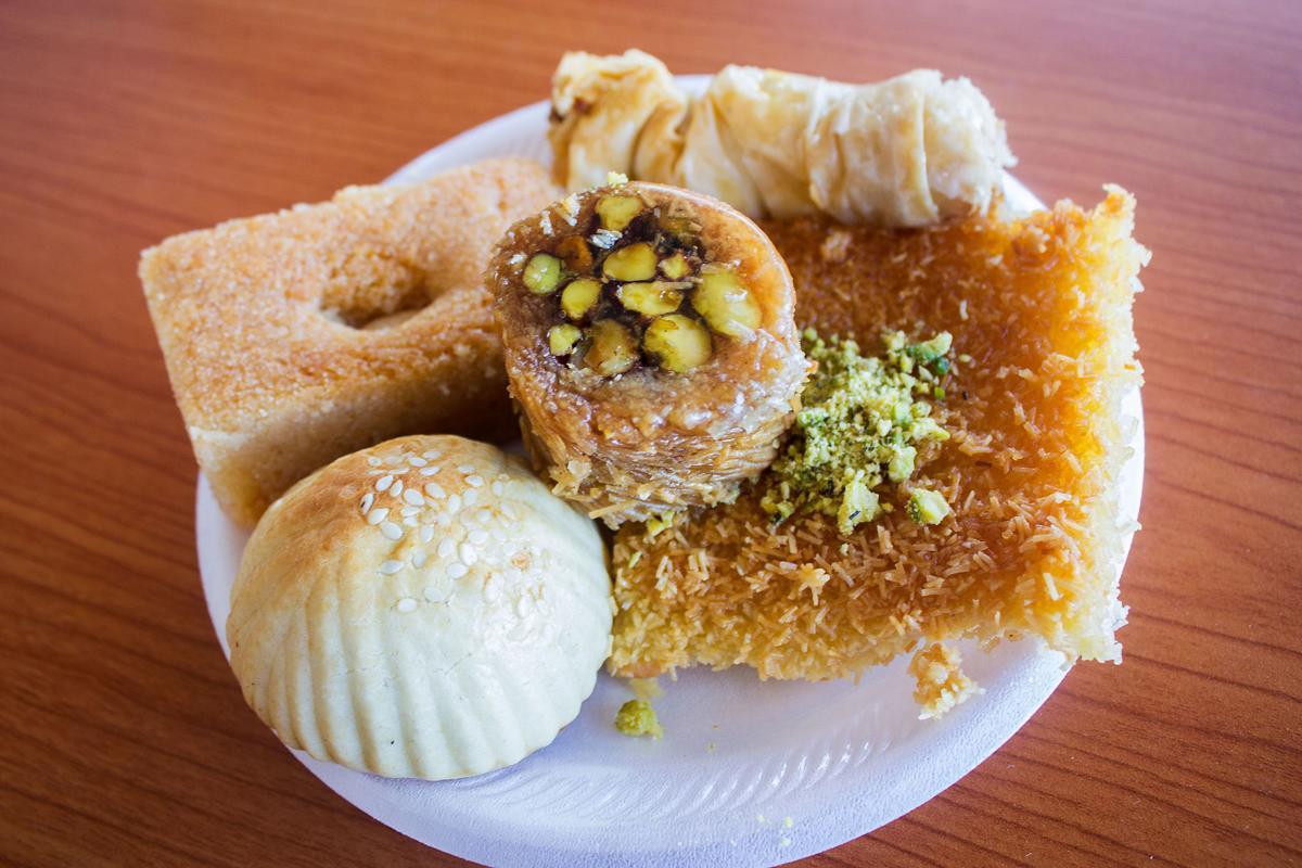 Caravan Grill Syrian pastries