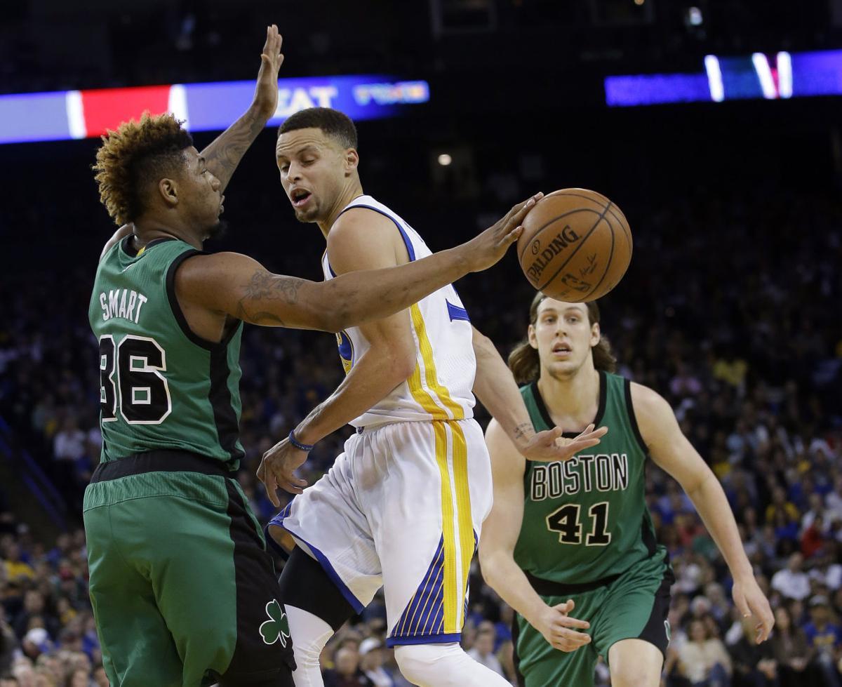 69968943ba9 Celtics snap Warriors  54-game home win streak