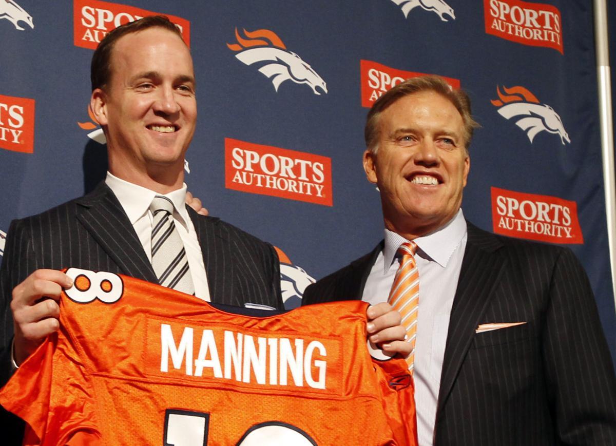 Peyton Manning, Pat Bowlen, John Elway