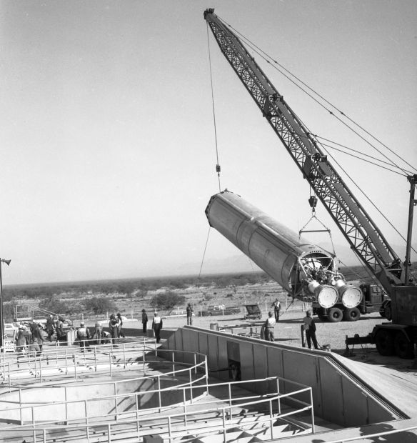 Photos: Titan II nuclear missiles ringed Tucson during the
