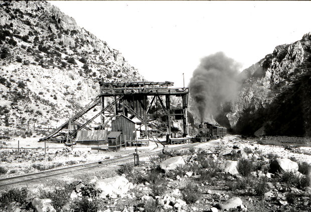 Trams' ore-hauling heyday over