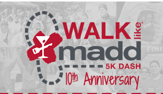 MADD walk