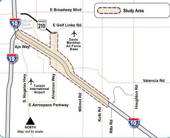 Map Of I 10 Arizona.Road Runner Tell Arizona Transportation Department About 2 Tucson
