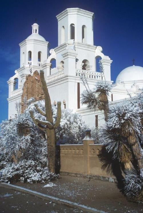 Good news from San Xavier del Bac