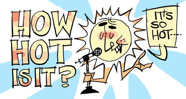 Fitz blog Art:How Hot is it?