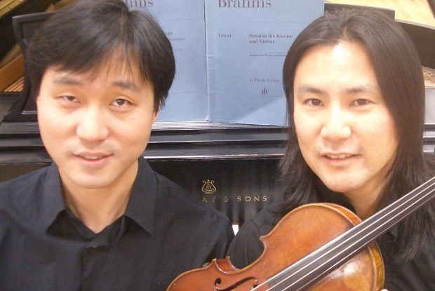 Violinist, pianist to perform Tuesday