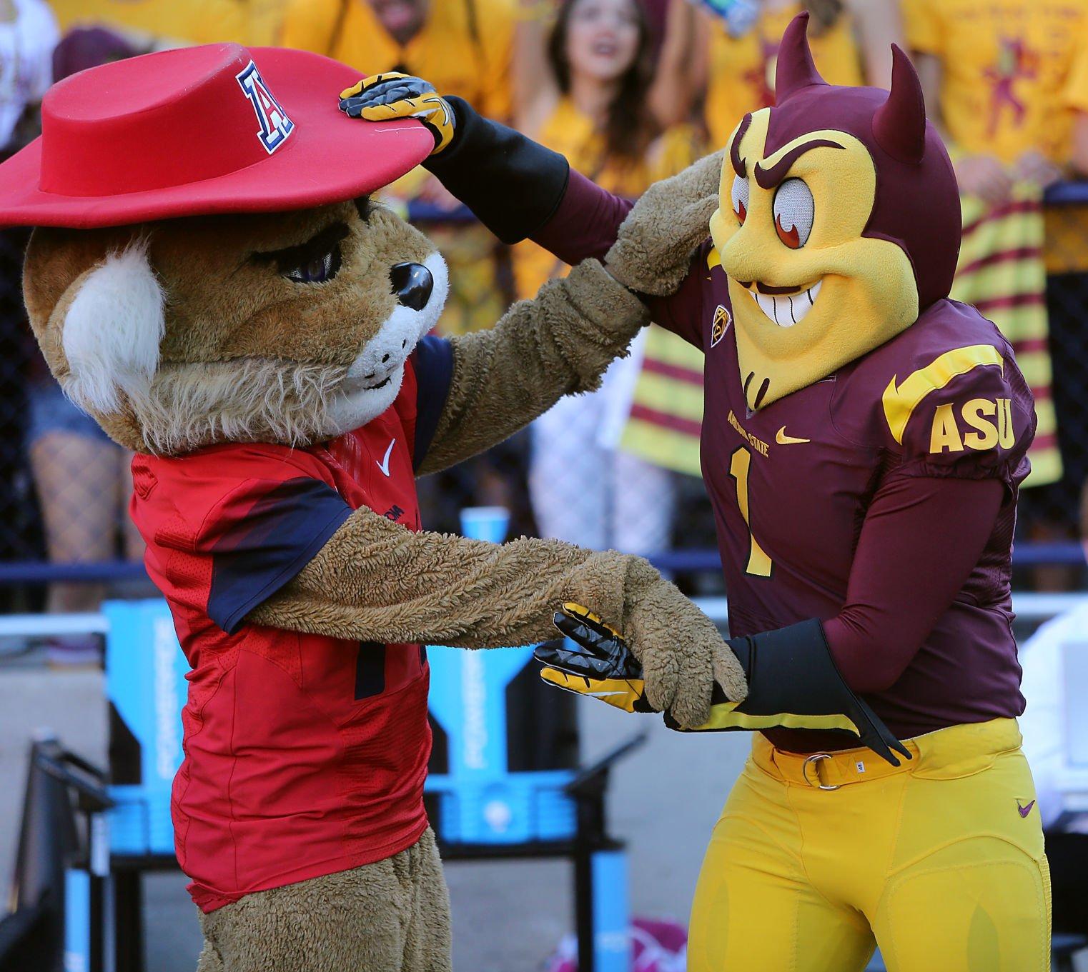 Arizona vs. Arizona State