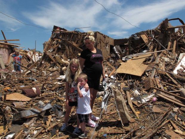 Gut instinct took over as tornado roared