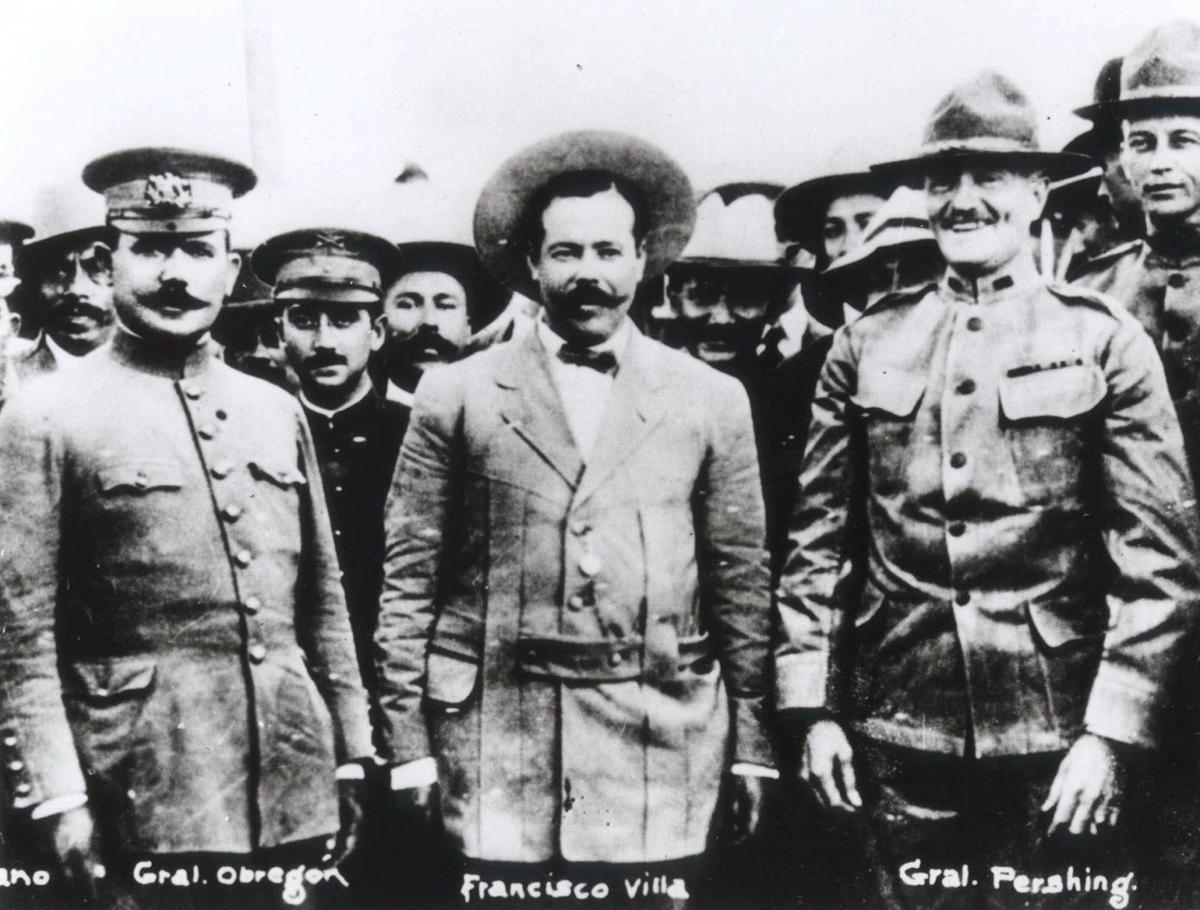Pancho Villa and Gen. Pershing