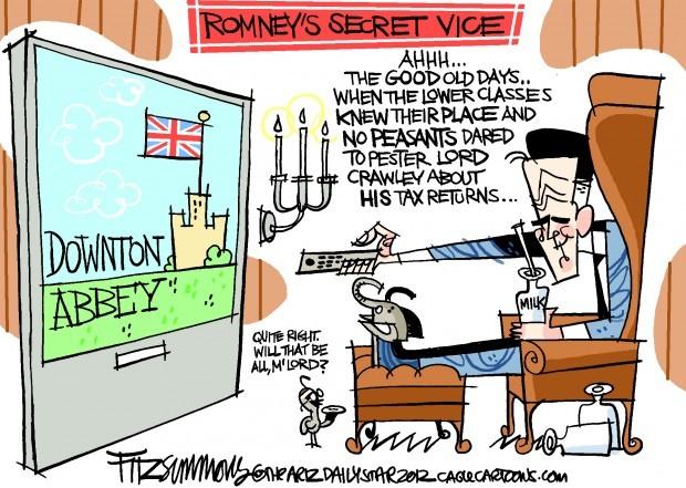Daily Fitz Cartoon: Lord Romney