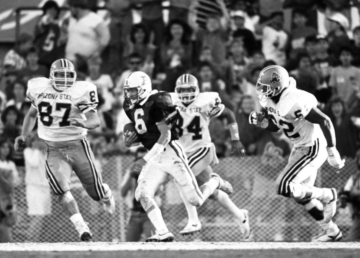 ASU vs. UA football, 1986