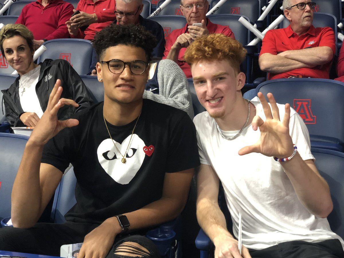 Arizona Wildcats Signees Nico Mannion, Josh Green Named To
