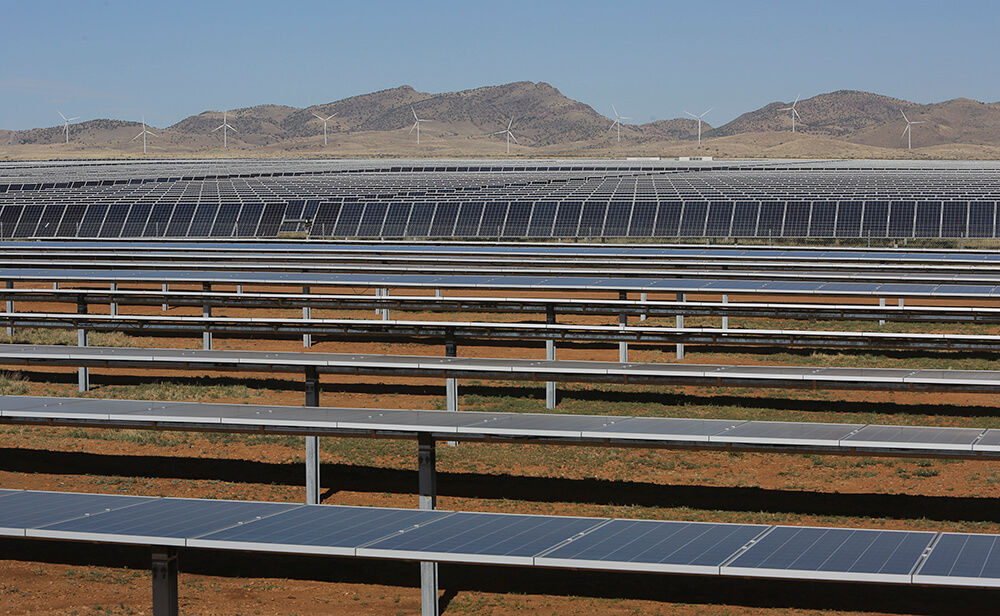 Tucson Electric solar and wind