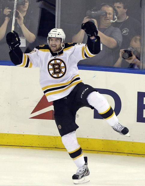 NHL playoffs: Bruins strike late, put Rangers on brink