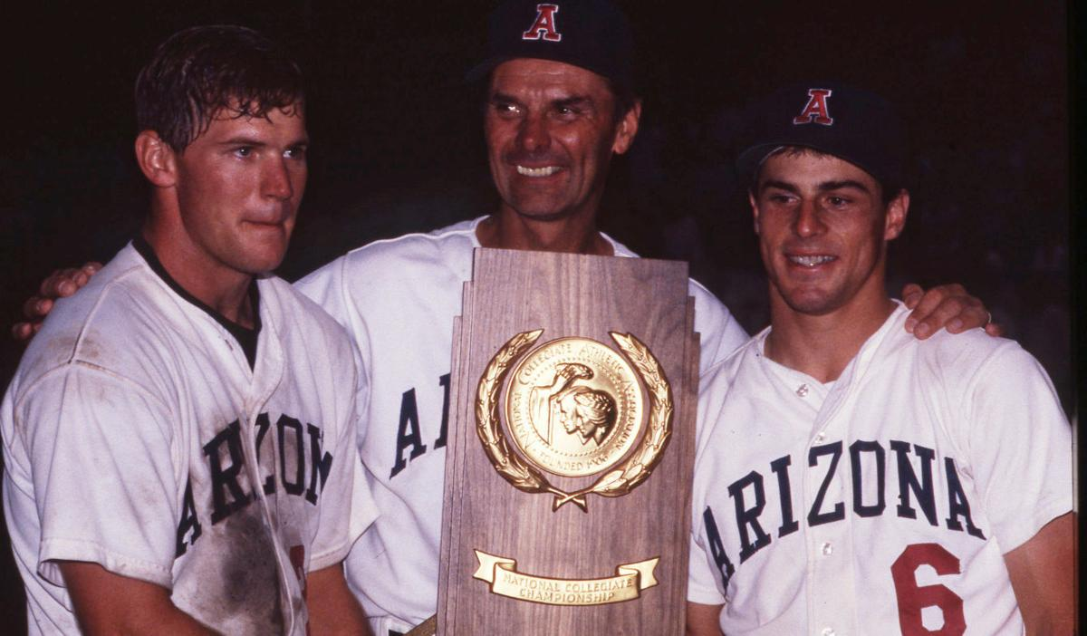 Arizona vs. Florida State baseball in 1986 CWS