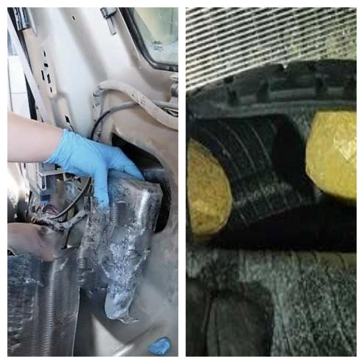 Nogales seized drugs