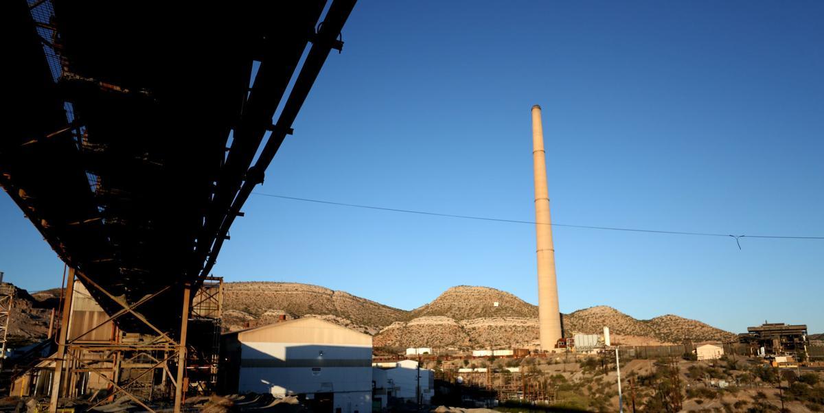 ASARCO Hayden Complex, smelter