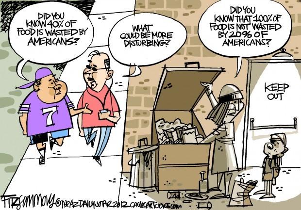 Daily Fitz Cartoon: Hunger