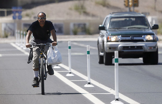 City builds protected bike lanes to help get more cyclists riding