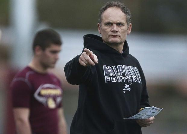 Salpointe football coach Dennis Bene
