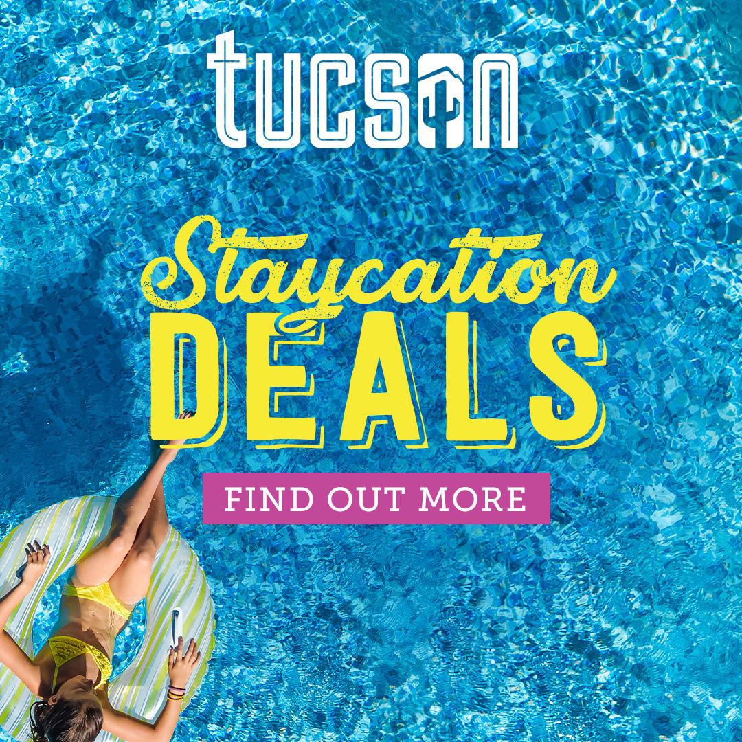 Visit Tucson sponsored staycation