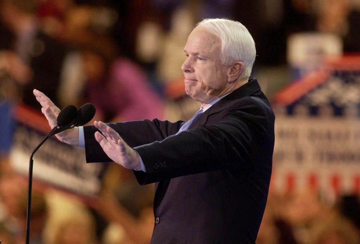 Sen. John McCain of Arizona