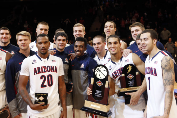 Arizona beats Duke, wins NIT Season Tip-off