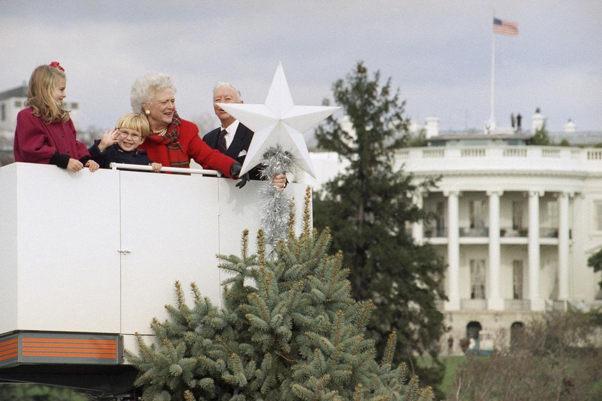Photos: Looking back at eight decades of National Christmas Trees ...