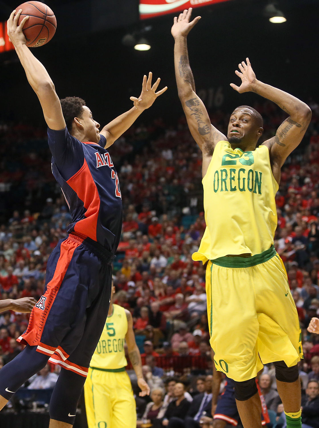 Arizona vs Oregon