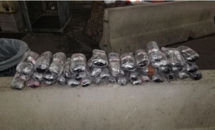 150k worth of meth seized