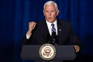 """Pence brings Trump's """"law and order"""" push to Tucson"""