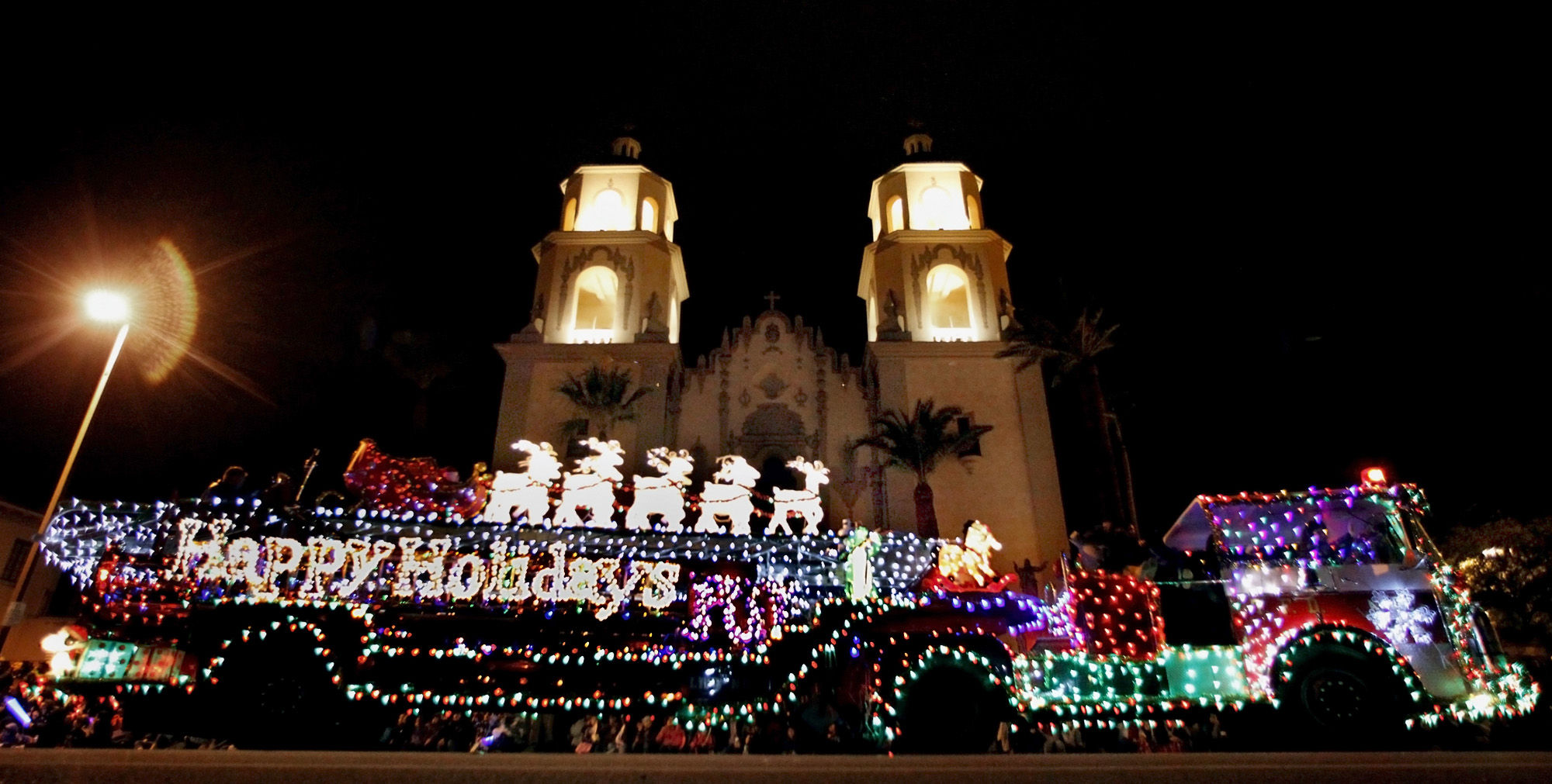 Tucson Downtown Parade Of Lights