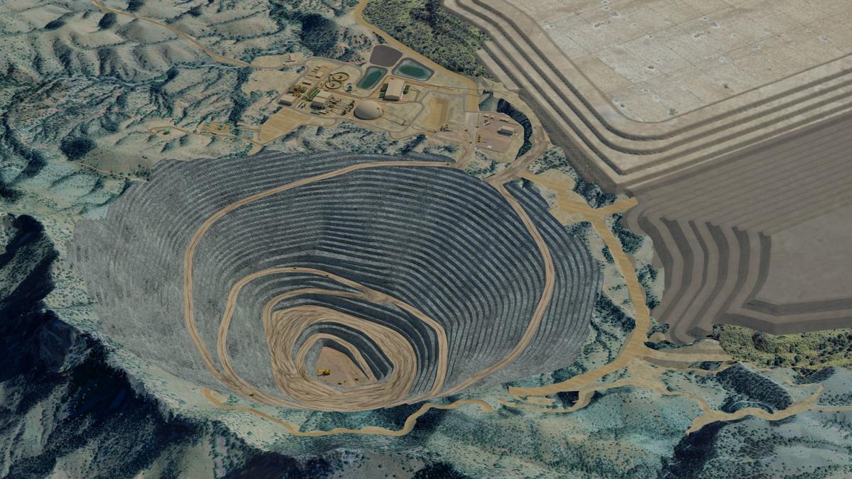 Rendering of Rosemont Mine