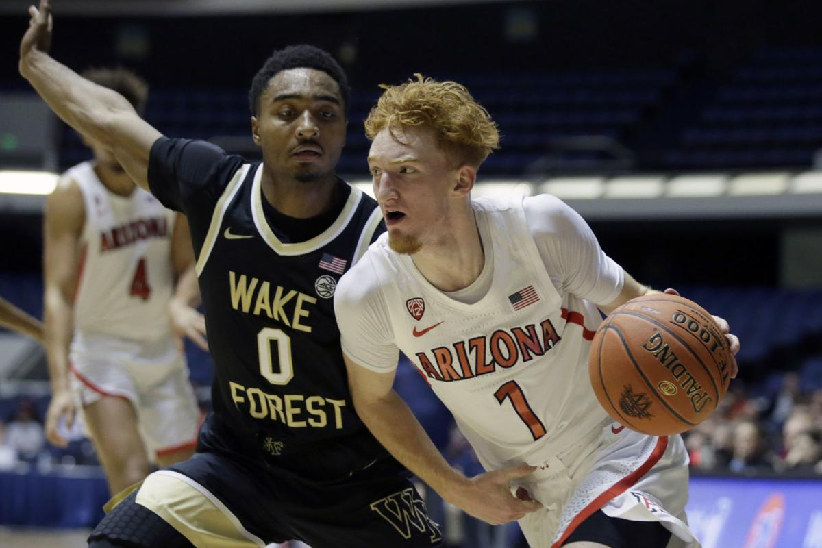 Wake Forest Arizona Basketball