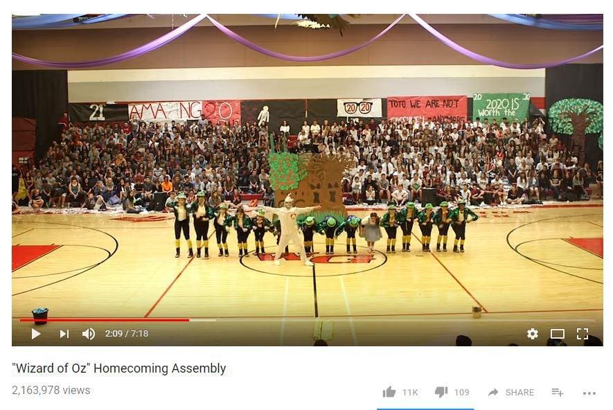 Walden Grove High School dance team