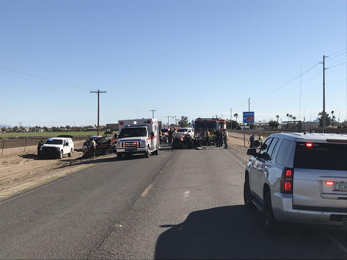 Three dead in accident near Eloy