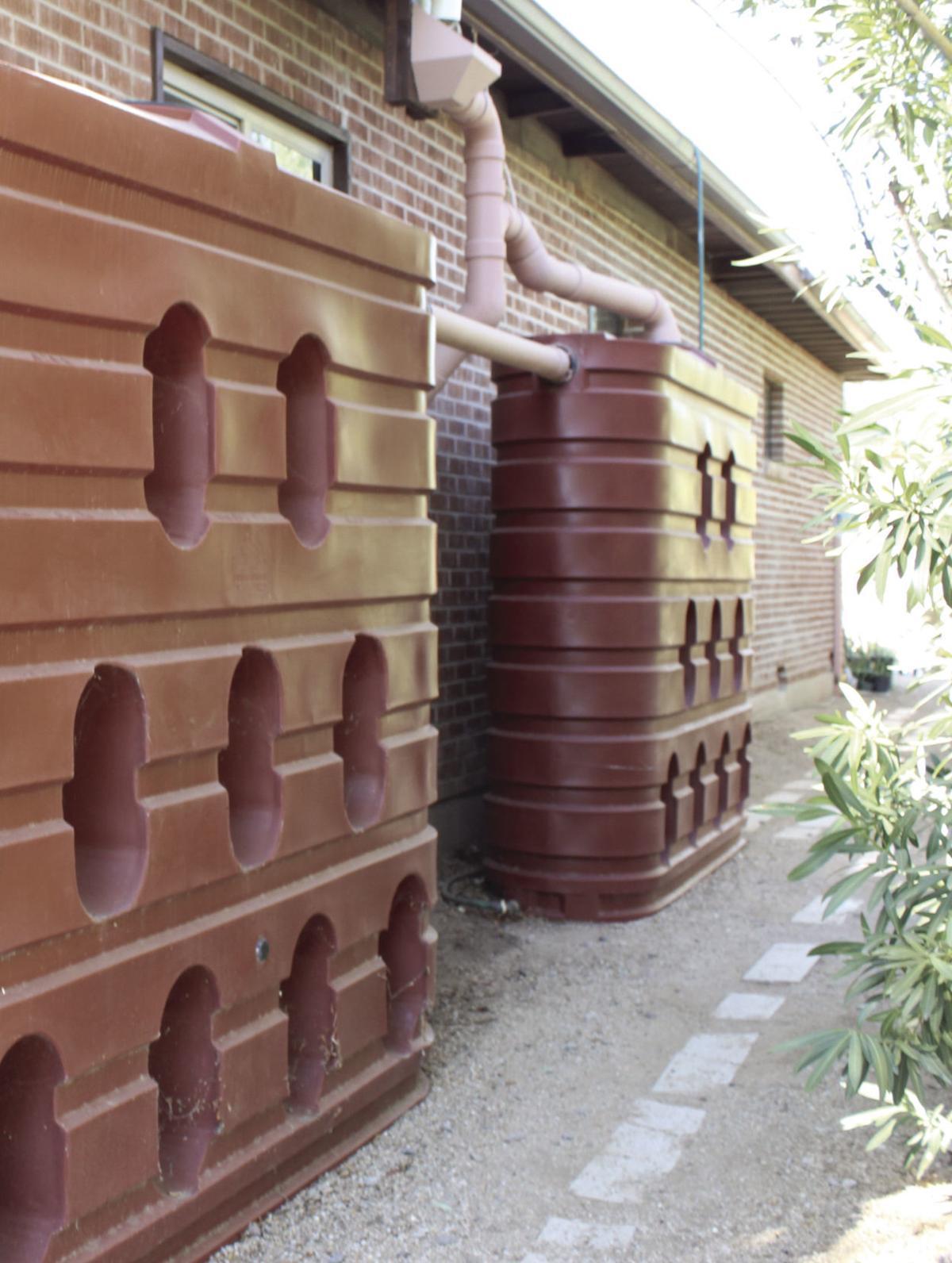Active rainwater harvesting