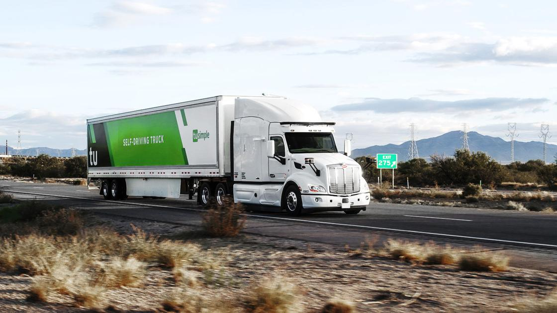 Self-driving truck company TuSimple plans major Tucson expansion - Arizona Daily Star