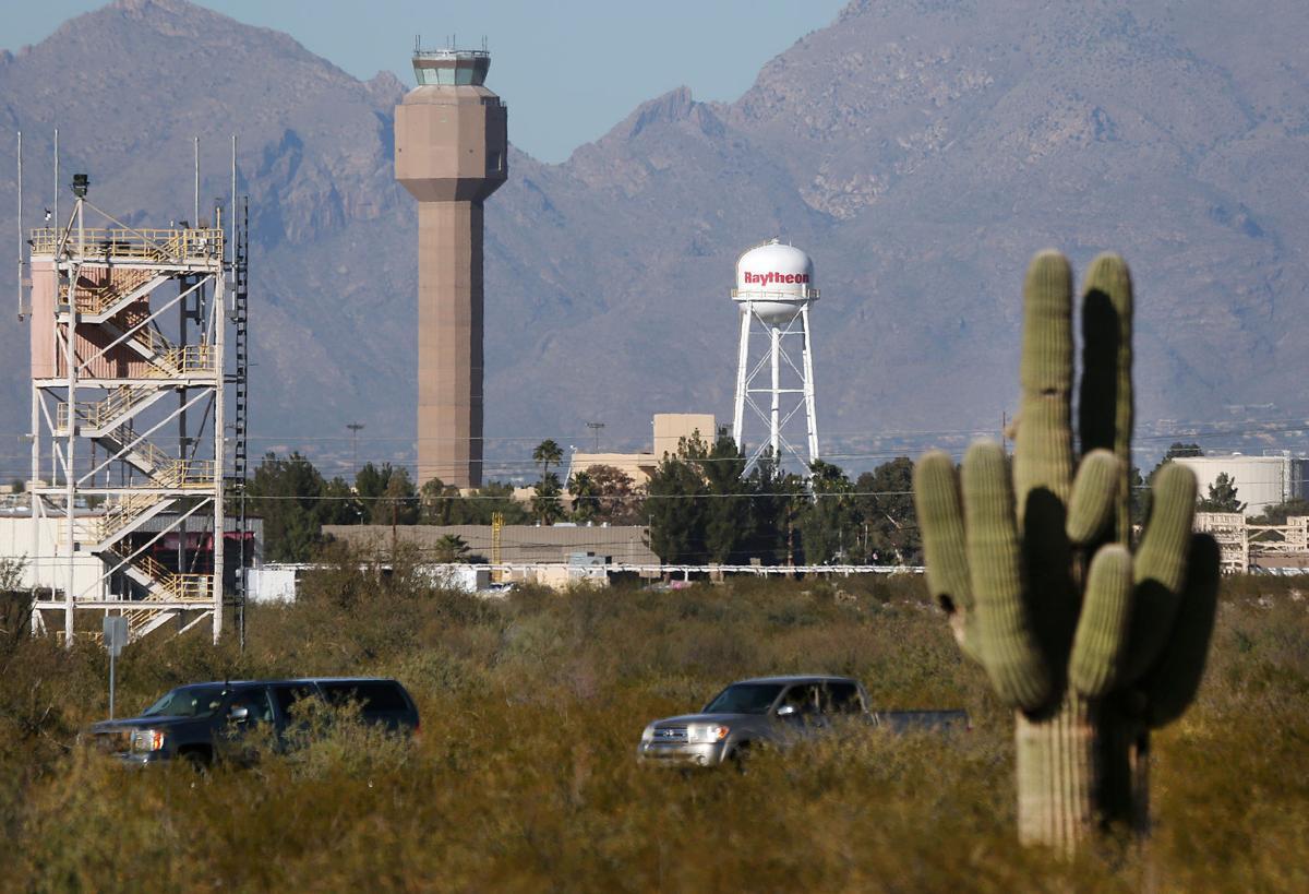 Tucson International Airport control tower