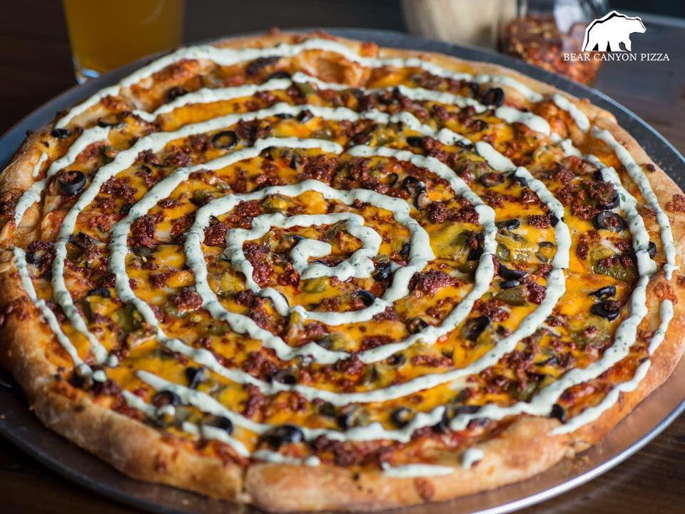 Bear Canyon Pizza New Year