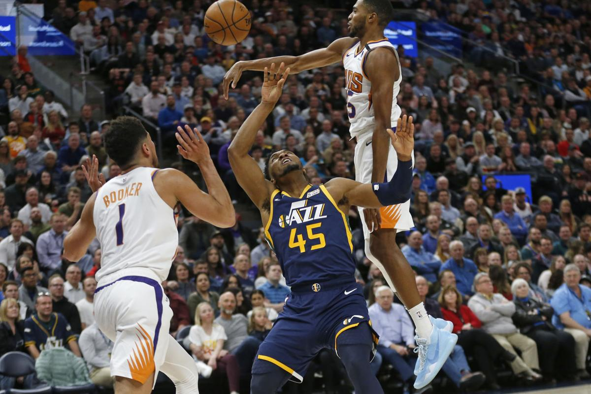 Suns Jazz Basketball