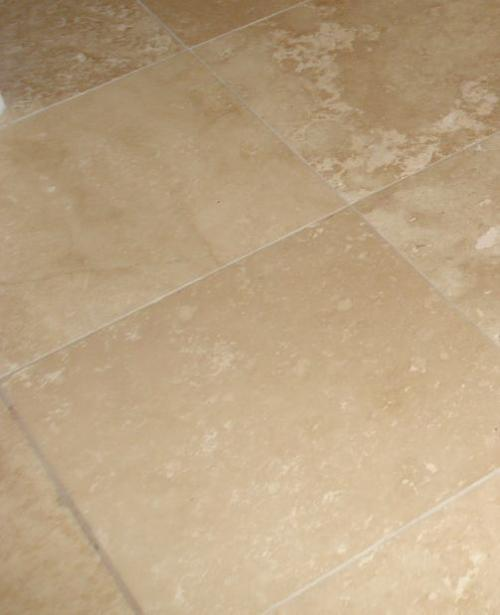 Porous Travertine Tile In A Shower Must Be Sealed