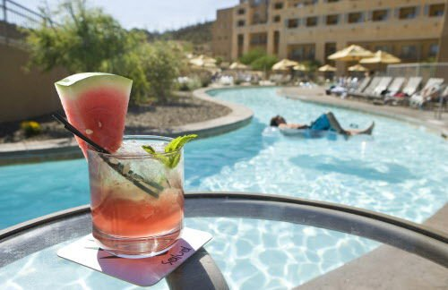 cocktails and lazy river