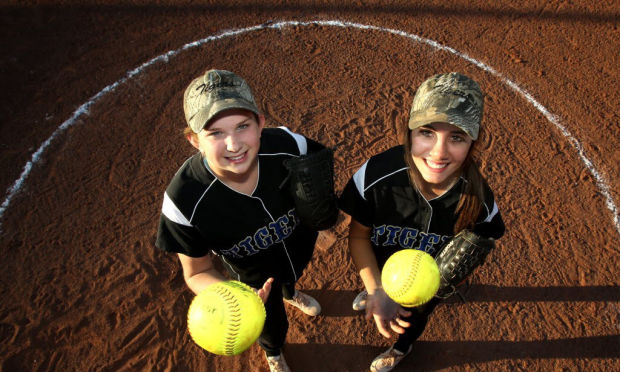 Softball: Tigers rolling behind 1-2 punch on mound