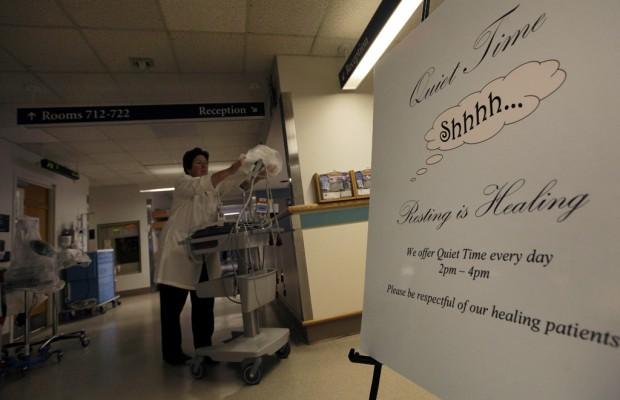Study: Hospitals' maddening noise disrupting sleep, potential healing