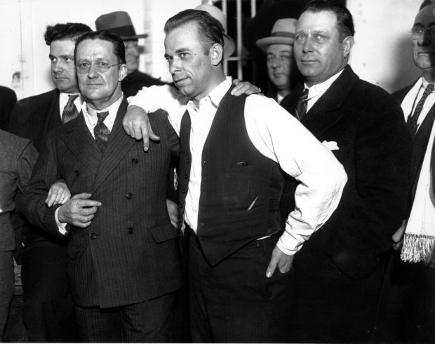 John Dillinger, public enemy No. 1