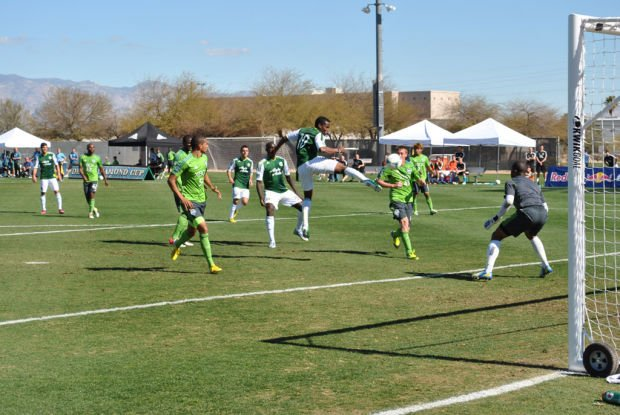 mLS in Tucson DAVE ORD: Sunshine, soccer has warming effect for fans