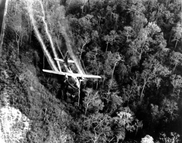 Planes linked to post-Vietnam Agent Orange exposure were stored in Tucson