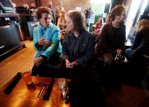 UA professors at Playground Bar and Lounge